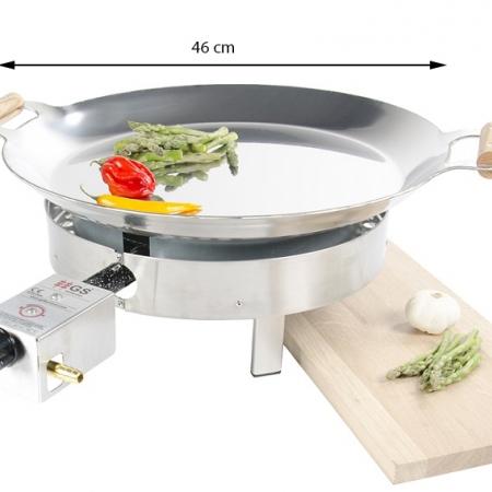 PRO-460inox paeljas gatavošanas komplekts
