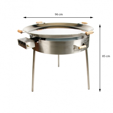 PRO-960inox paeljas gatavošanas komplekts