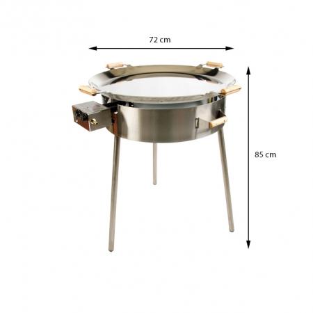 PRO-720inox paeljas gatavašanas komplekts